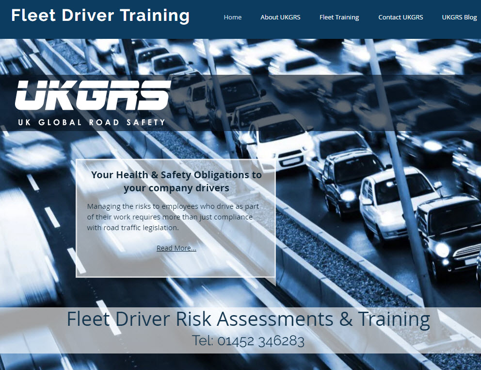 E-learning online driver assessment and training in the UK
